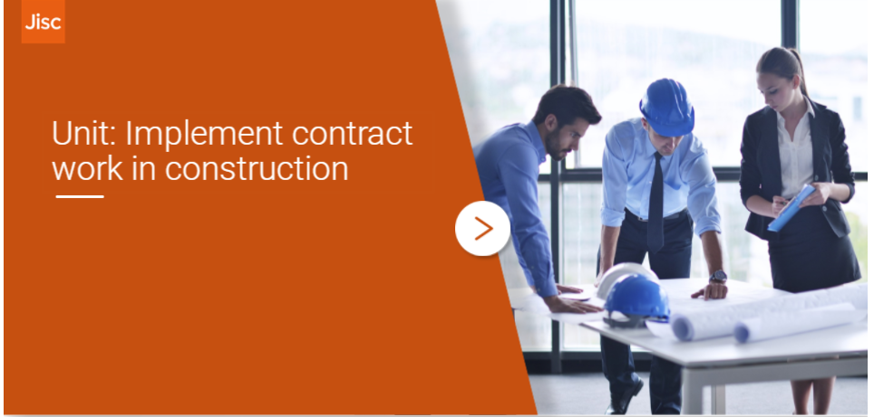 Implement contract work in construction activity thumbnail