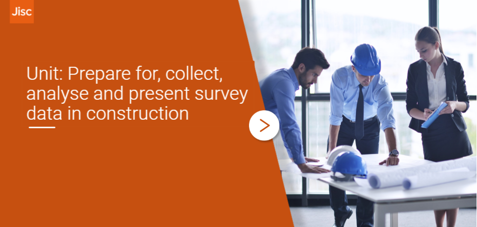 Prepare for, collect, analyse and present survey data in construction activity thumbnail